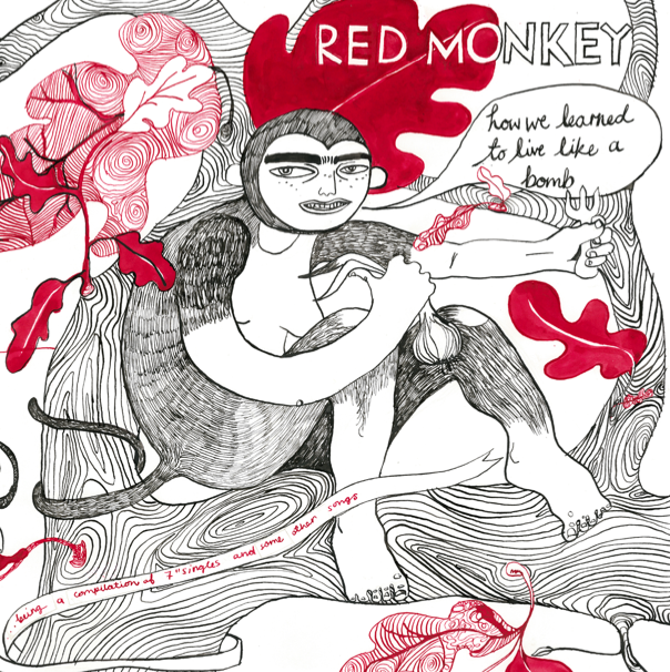 RED MONKEY LP Cover